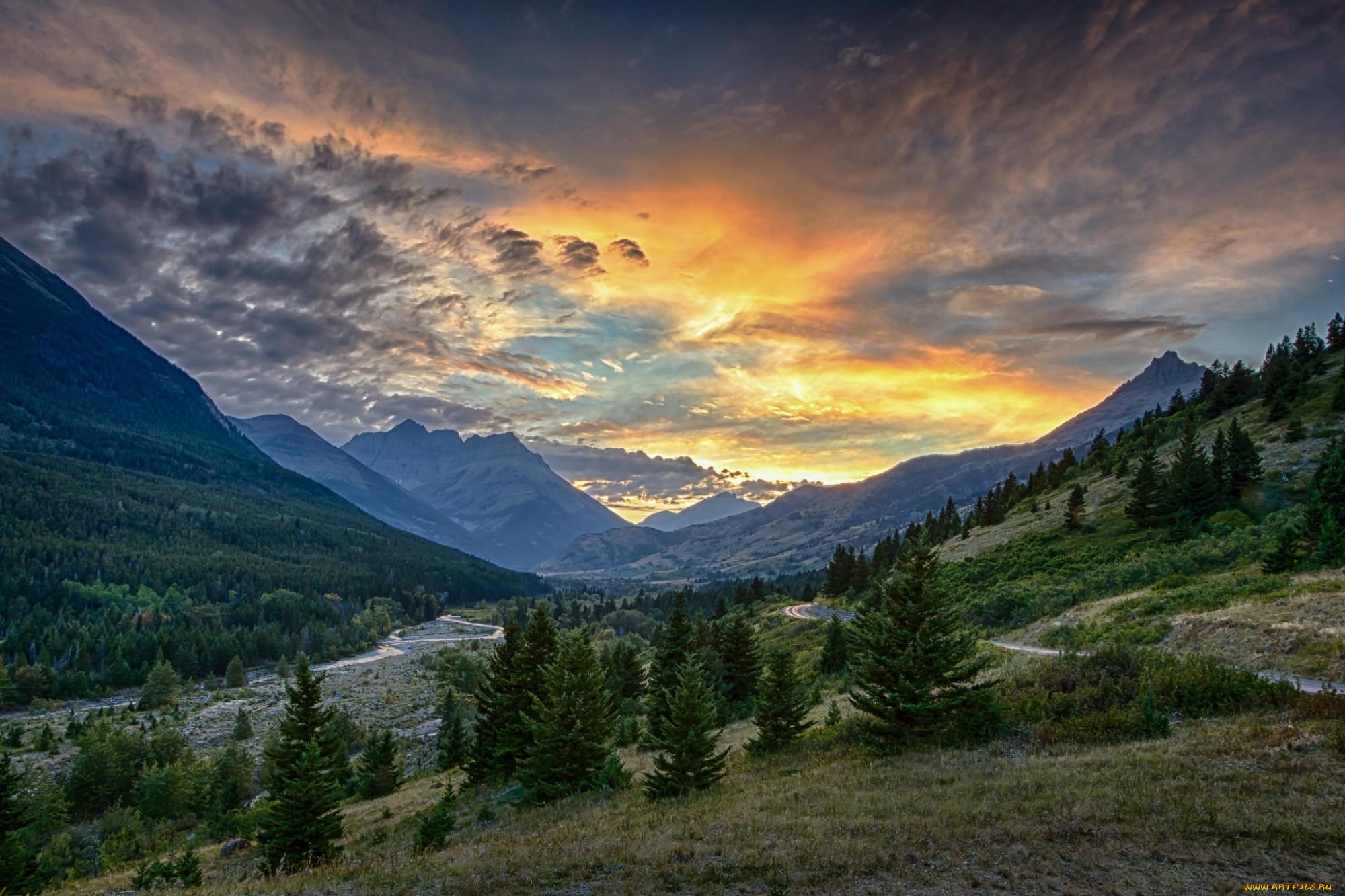 фото горная долина природа бывает